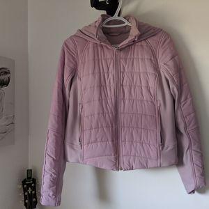 Pink lululemon spring jacket